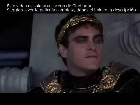 Gladiador Parte 1 9 Película Completa En Español Latino Youtube