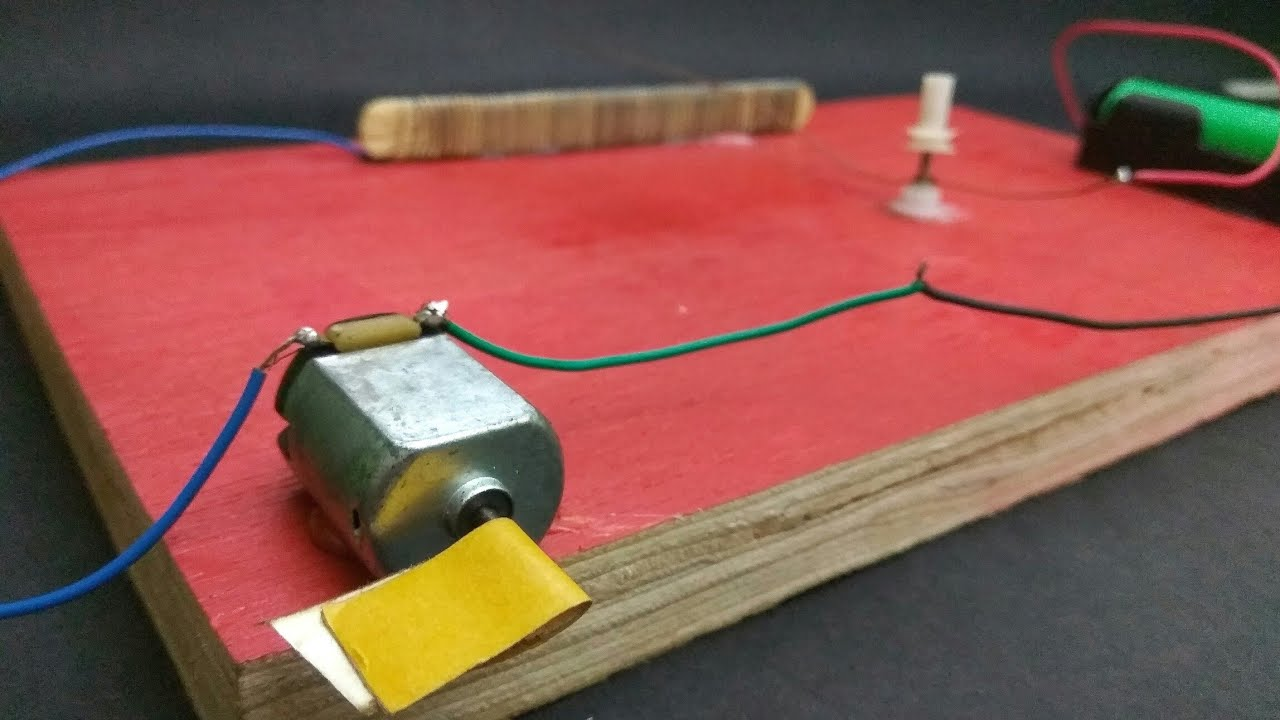 How to make a simple dc motor speed controller in just a for How to build a motor controller