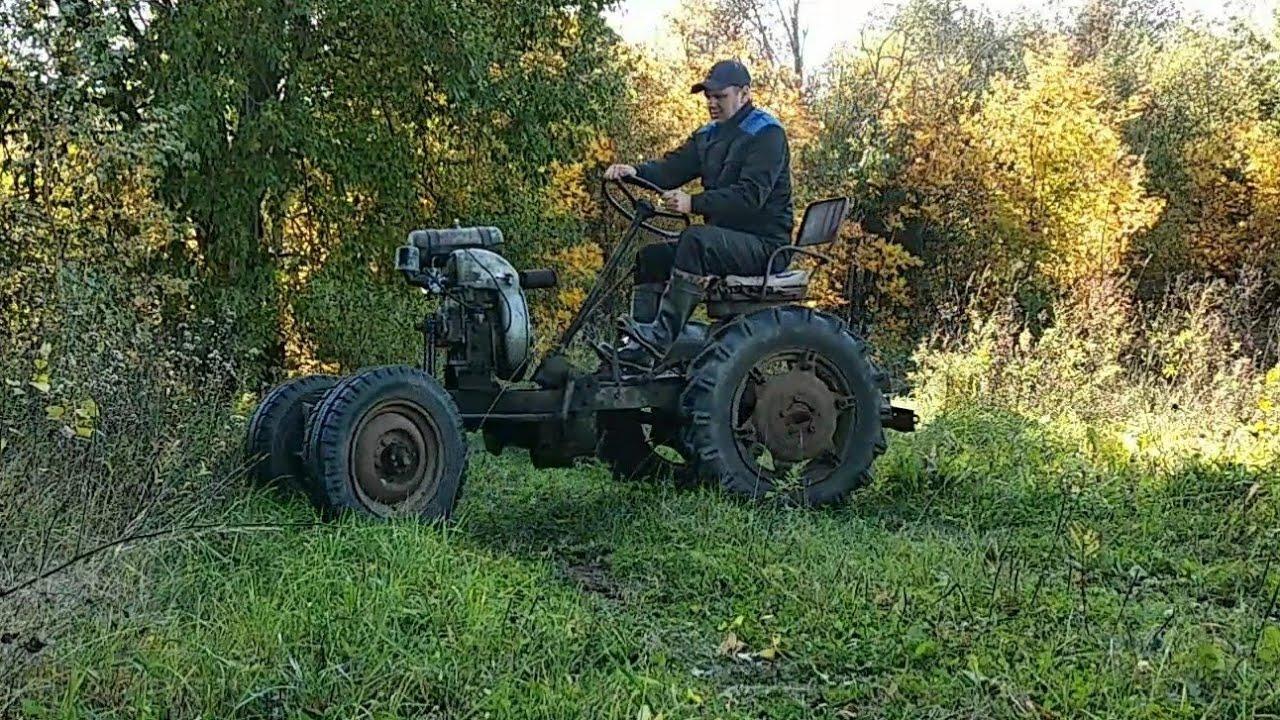 Рестоврация старого дедовского трактора часть 1 . Мотоциклетный карбюратор на ЗиД 4.5