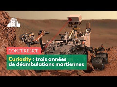 Trois années de déambulations martiennes à bord du robot Curiosity
