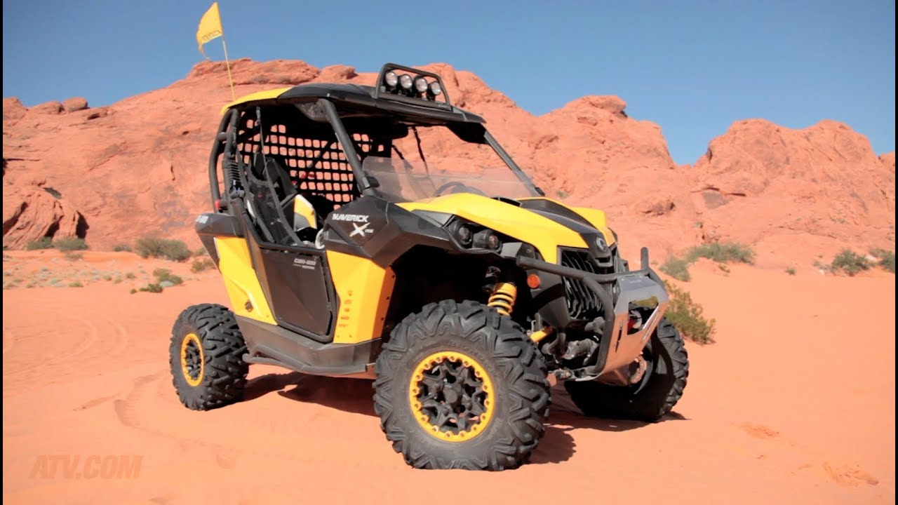 2013 Can Am Maverick 1000r X Rs Review Youtube