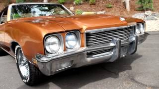 1972 Buick Skylark Hardtop Sport Coupe 4-Speed V8 350ci Original Restored