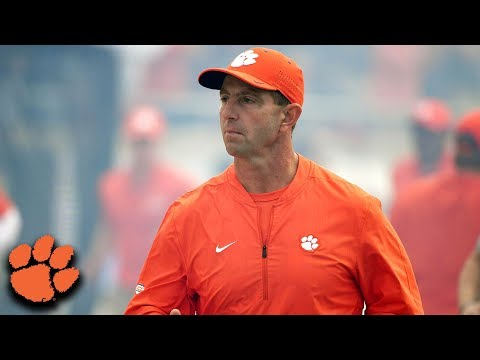 Clemson's Dabo Swinney 1-on-1: ACC Championship Preview (2018)