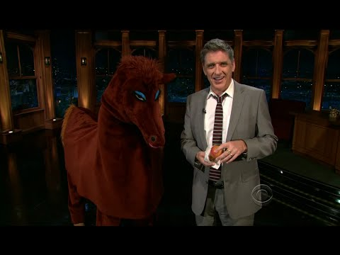 Late Late Show with Craig Ferguson 5/6/2011 Will Ferrell, Reese Waters