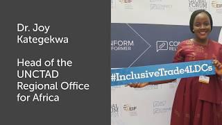 Dr. Joy Kategekwa on African Continental Free Trade