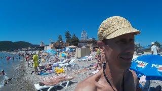 Отдых на Чёрном море Архипо-Осиповка июль 2016. Все пляжи. Подводный мир Архипо-Осиповки 2-я ч(Красивые девушки, загорелые мужчины, пляж Норникель, авто-кемпинги, дикие пляжи, Римская башня, дольмены,..., 2016-07-17T18:27:48.000Z)