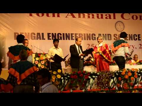 16th Annual Convocation of Bengal Engineering & Science University, Shibpur, 2014 - Part 8