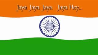#JanaGanaMana  Lagu kebangsaan India, jana gana mana.