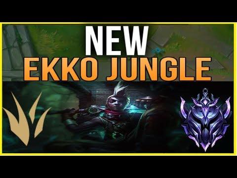 HOW TO PLAY NEW EKKO JUNGLE - DIAMOND 1 GUIDE - League of Legends