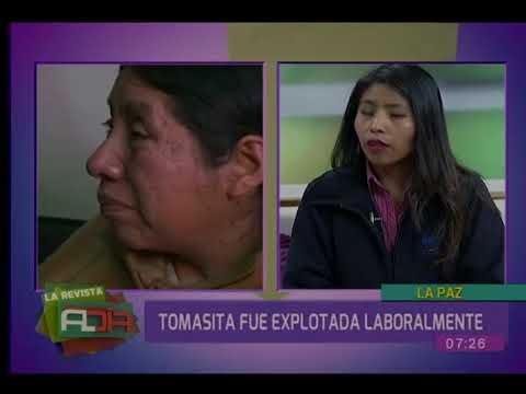 Tomasita Machaca ya cuenta con un empleo formal