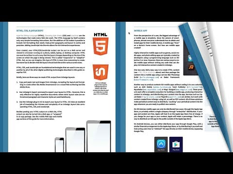 HTML5 Page Flip from InDesign: Sneak Peek of in5 3.1 Features
