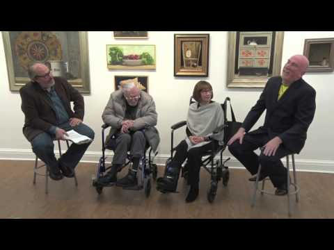 Interview with Ken Davies and artist/assistants Jo-Anne Scavetta and Dan Buckley by Doug Reina