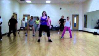 Zumba with Connie...krazy by pitbull.MOV