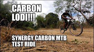 Synergy Carbon XC MTB Test Ride (Carbon Lodi!)