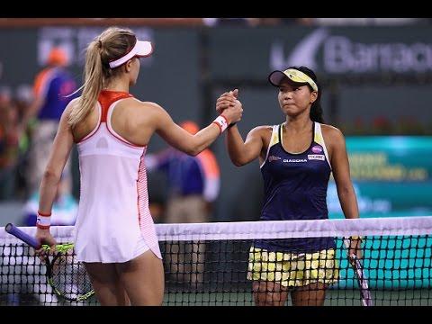 2016 BNP Paribas Open Day 2 WTA Highlights