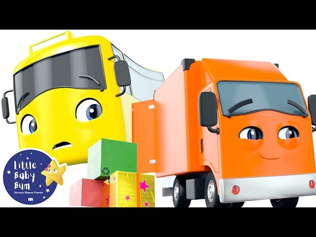 Educational Videos for Toddlers   Buster and the Boxes   Go Buster   Baby Songs   Little Baby Bum