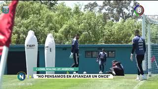 Scaloni podrá como titulares a los codobeses Paulo Dybala y Renzo Saravia