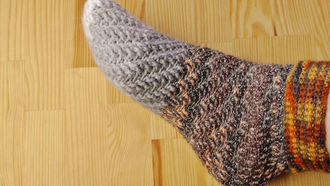 How to crochet swirl socks without heel youtube bankloansurffo Gallery