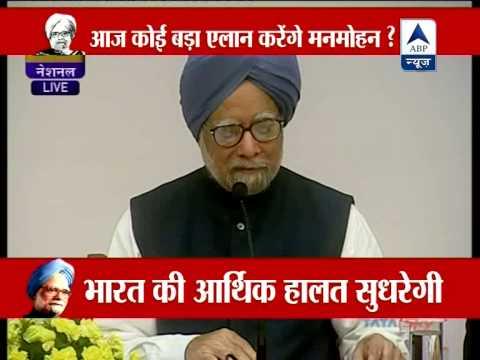 PM Manmohan Speech addresses media, lists UPA's achievements