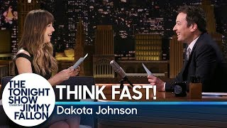 think fast with dakota johnson