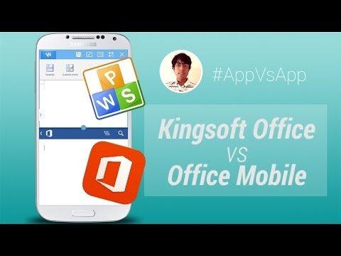 Kingsoft Office Vs Office Mobile (Microsoft) Para Android