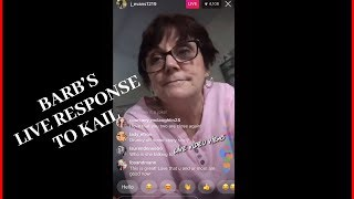 Jenelle evans mom Barb in trouble (HER RESPONSE TO KAIL LOWRY)  | Live Video Views