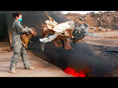 Iraq War Burn Pit Toxic Effects Revealed