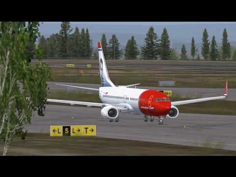 Stockholm Arlanda to Göteborg Landvetter - Boeing 737NGX Norwegian Air Shuttle