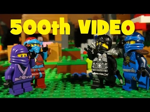 LEGO NINJAGO - AUGUST VLOG - 500TH VIDEO ON YOUTUBE