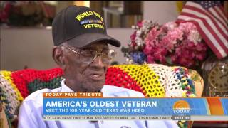 America's Oldest Veteran Drinks Whiskey And Smokes Cigars At Age 108