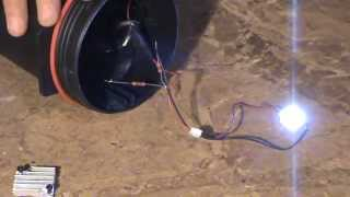 Установка світлодіода 12 вольт на ліхтар