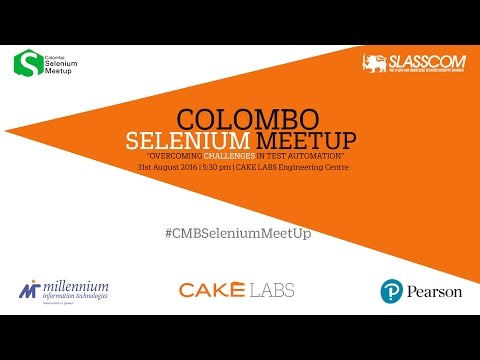 Colombo Selenium Meetup : Execute Mobile Automation Scripts on Sauce Labs