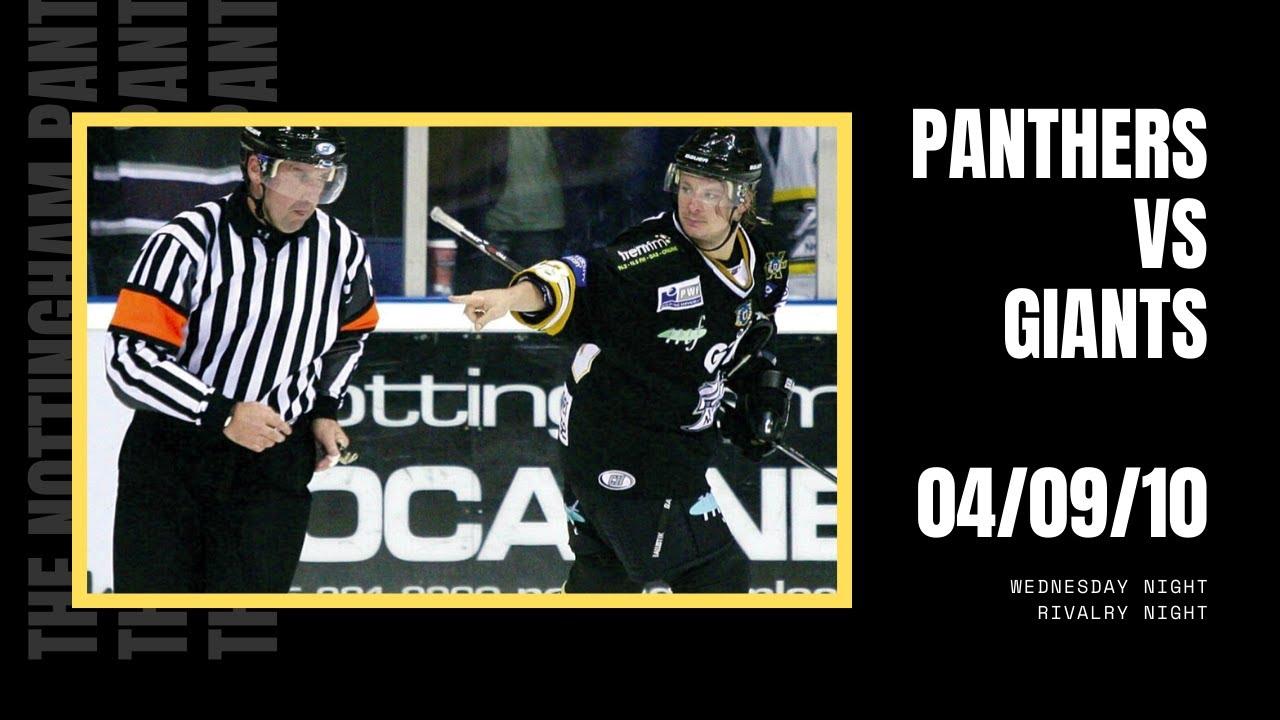 FULL GAME: The Nottingham Panthers vs Belfast Giants | EIHL | 04/09/10