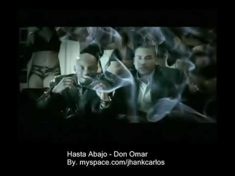 Hasta abajo Video - Don Omar