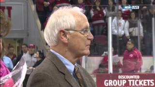 Jack Parker Boston University Jersey Retirement Ceremony - 02/28/2014