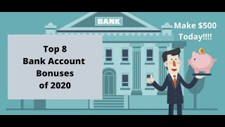 Top 8 New Bank Account Bonuses of 2020: How to PROFIT Churning Bank Accounts