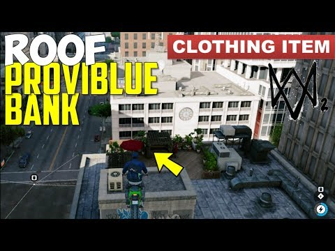 Watch Dogs 2 | Clothing Item | South of Embarcadero Center (Roof of Proviblue Bank)