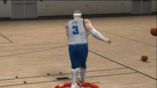 NBA 2k10 Draft Combine (HD) - Leon King 7