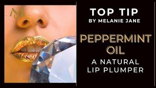 PEPPERMINT OIL AS A LIP PLUMPER!