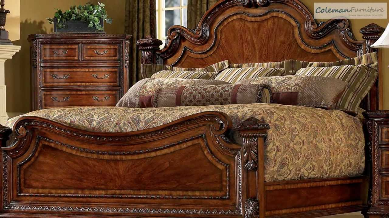 Old World Estate Bedroom Collection From ART Furniture - YouTube
