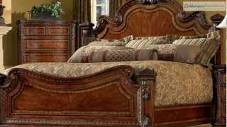 Old World Estate Bedroom Collection From Art Furniture