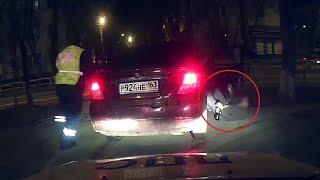Задержание нетрезвого водителя.