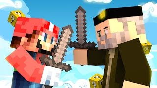 Minecraft | MUERTE A MARIO!! | Minijuego LUCKY ISLANDS c/ Vegetta