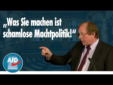 Dirk Nockemann zur Änderung der Geschäftsordnung durch die Altparteien