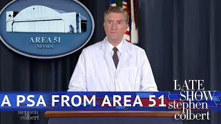 A Statement From Area 51's Spokesperson
