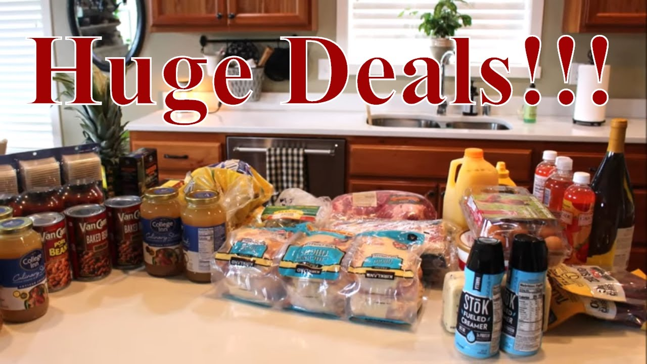 Awesome Deals Grocery Haul With Linda's Pantry