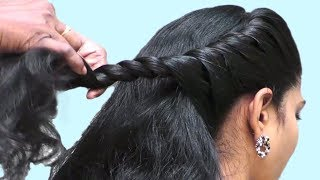 Beautiful Hairstyle for Wedding , Party , Work | Hairstyles for Girls | Everyday hairstyles