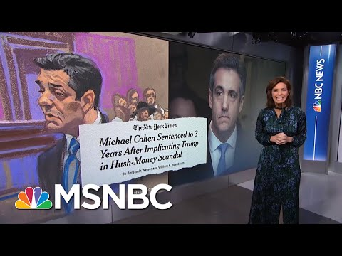 Sources: President Donald Trump Tells Close Friends He Fears Impeachment | Velshi & Ruhle | MSNBC