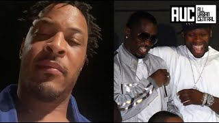 T.I. Has Words For Diddy & 50 Cent For Disrespecting ATL And Refusing To Verzuz Battle