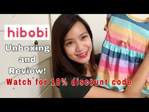 Hibobi unboxing and review. Cute Toddler clothes with 10% discount code!